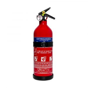 ULTRAFIRE 1KG ECONOMY POWDER FIRE EXTINGUISHER