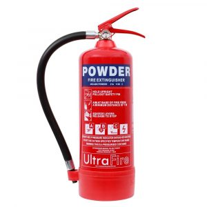 ULTRAFIRE 4KG POWDER FIRE EXTINGUISHER
